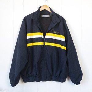 Perry Ellis America Windbreaker Jacket Vintage 90s